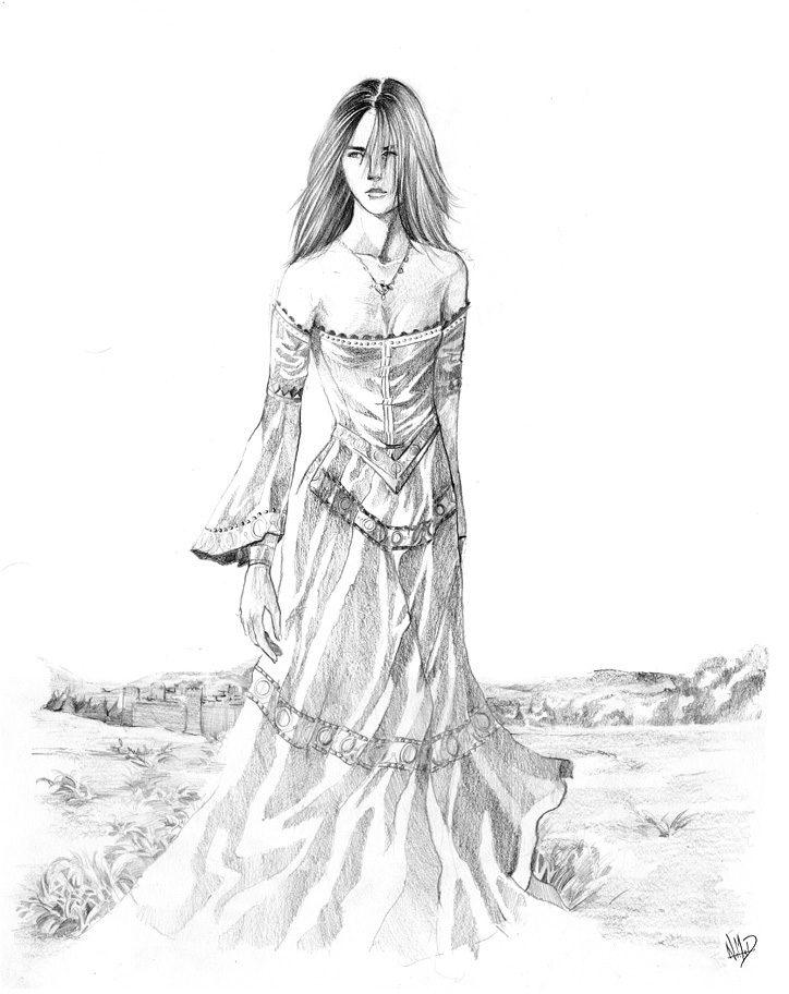 Medieval Woman by Roalmeh