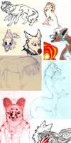 Sketch Dump 001