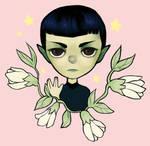 Spock by omniscientbongos