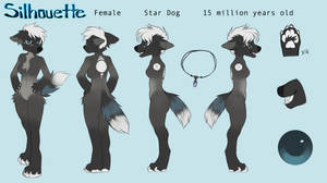 Silhouette Anthro Reference by omniscientbongos