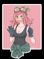 Hatsume Mei by takoyanii