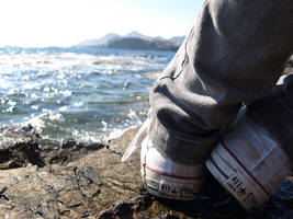 Converse. Rock. Sea. by xLucy02x