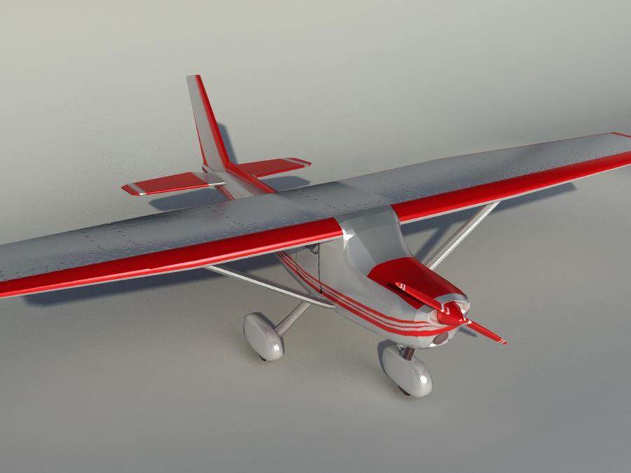 Cessna 172 --- 01 by Linaerlight on DeviantArt