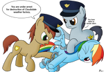 Rainbow Dash Under Arrest