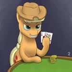 AJ's hand in Blackjack