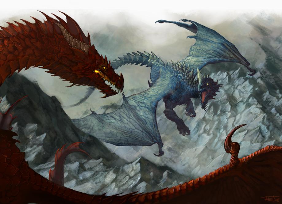 Dnd White Dragon: DnD: Slow Circles By Gorrem On DeviantArt