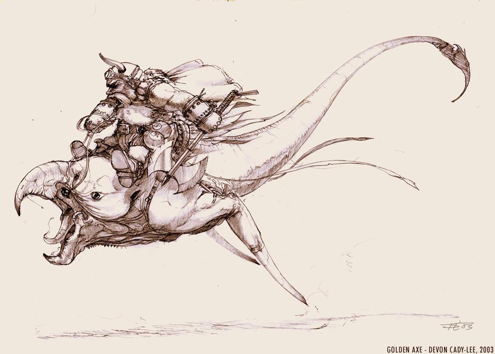 Gilius the Dwarf by Sarikyou