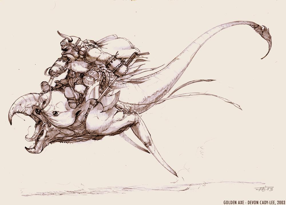 GOLDEN AXE-Gilius Thunderhead