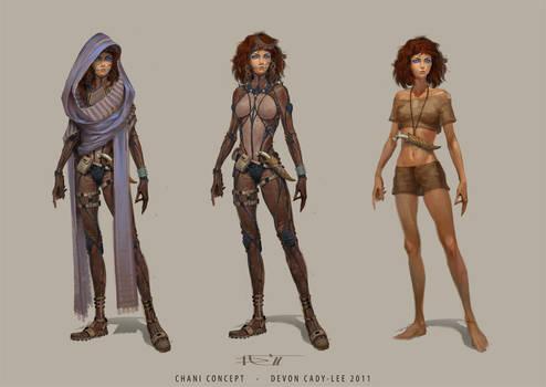 Dune - Chani costumes