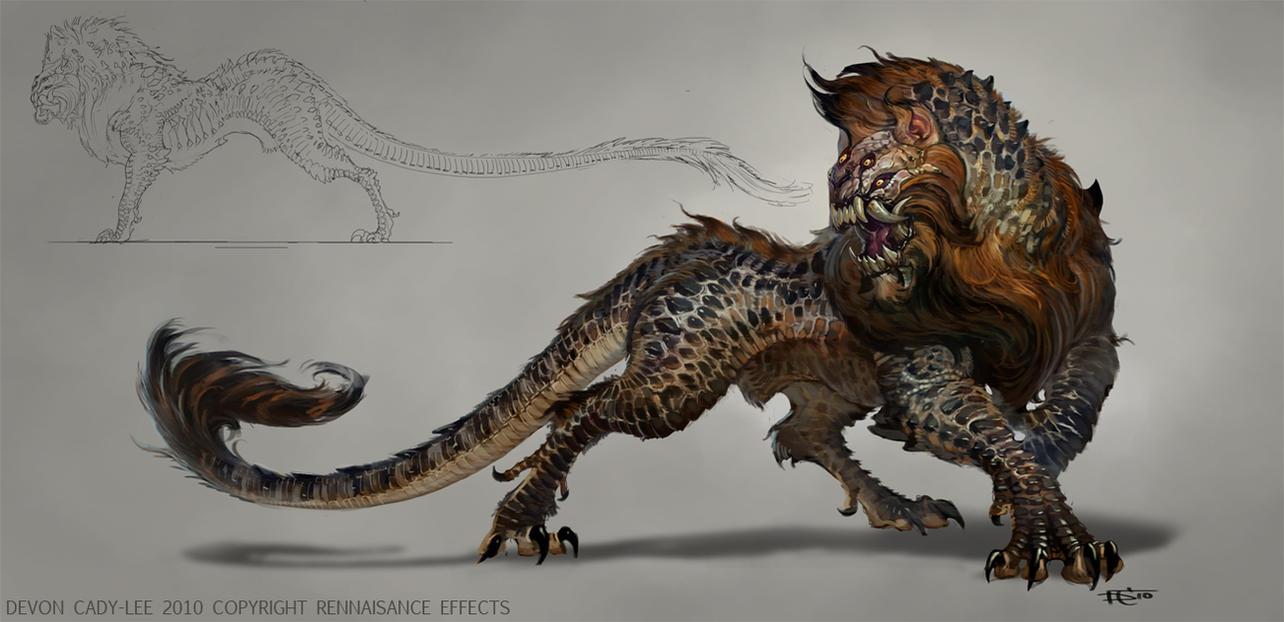 The Orphan Beast by Gorrem