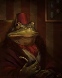Eligible Bachelor Frog by Gorrem