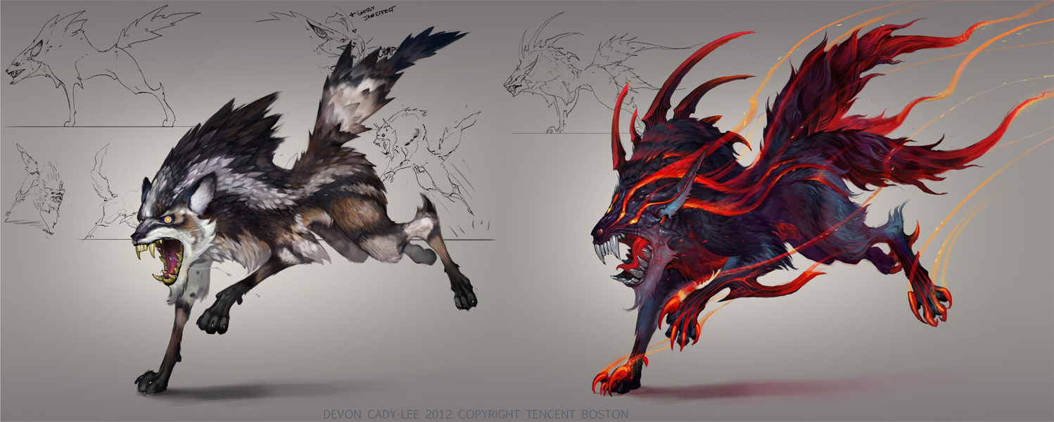 Wolf Variants by Gorrem