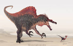 Spinosaurus Sketch by Gorrem
