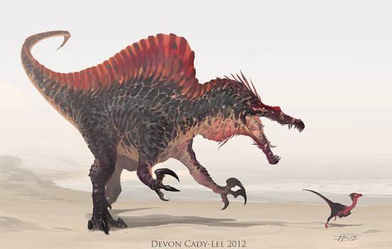 Spinosaurus Sketch