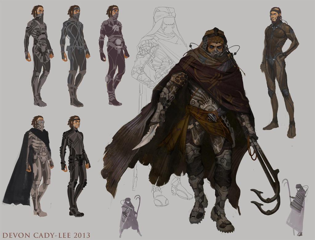 Dune - Fedaykin Death Commandos by Gorrem