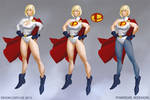 Power Girl Redesigns
