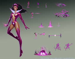 Infinite Crisis - Star Sapphire by Gorrem