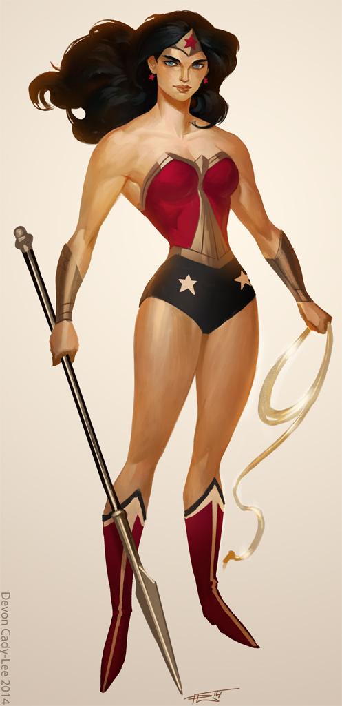 Greek Heroine by Gorrem