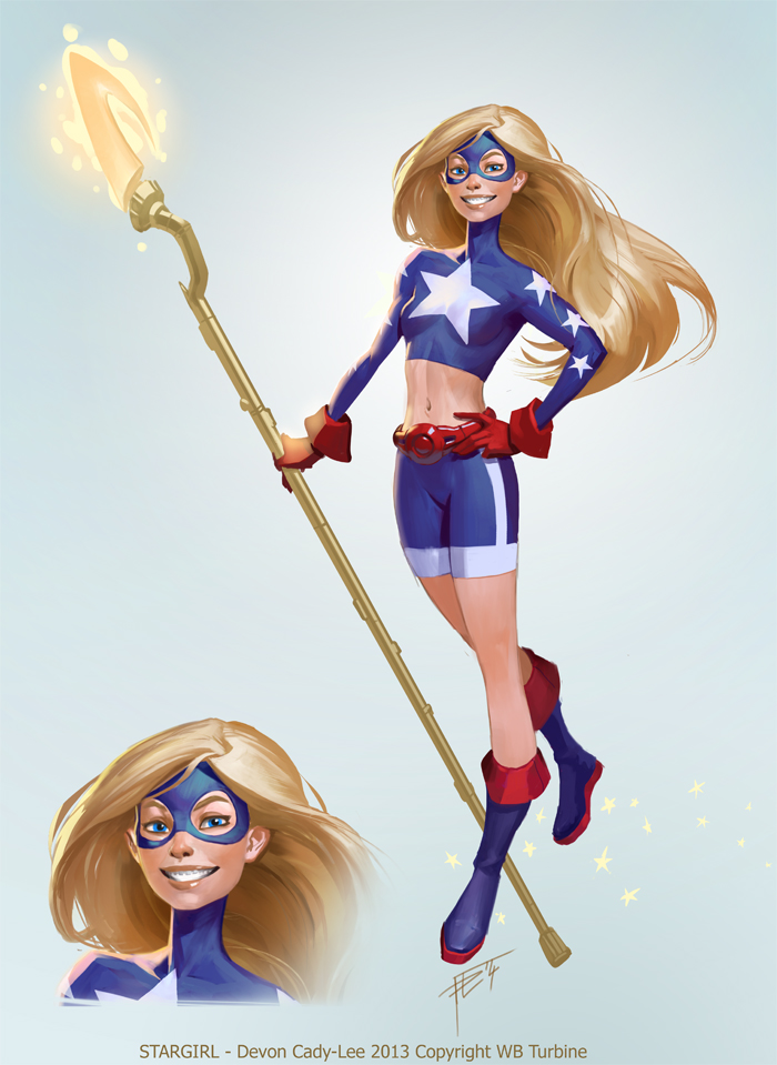 Infinite Crisis Stargirl By Gorrem On Deviantart