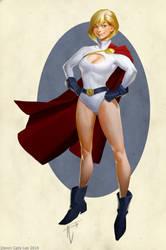 Powergirl Update by Gorrem
