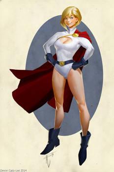 Powergirl Update