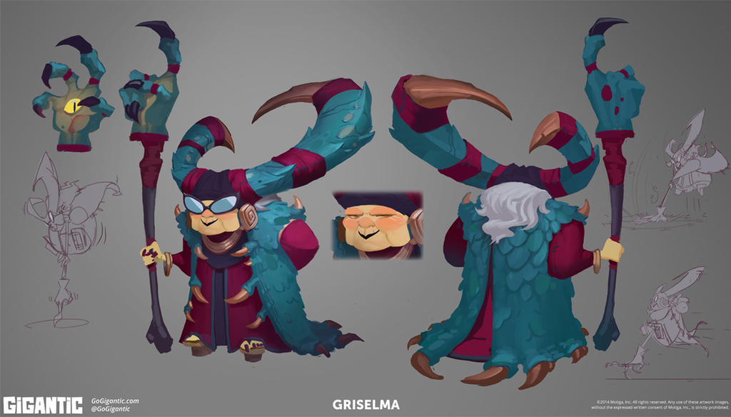 GIGANTIC - Griselma by Gorrem