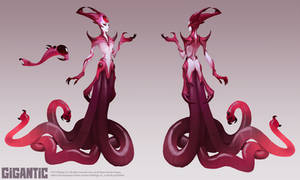 GIGANTIC - Bloodwitch Xenobia Skin