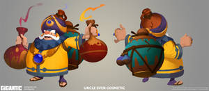 GIGANTIC - Crackpot Sven Skin by Gorrem