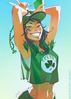 Green Day by Gorrem