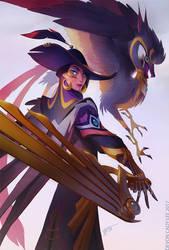 ImagineFX - Pirate and Companion by Gorrem
