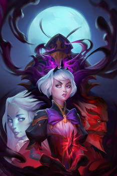 Heroes of the Storm: Orphea cover