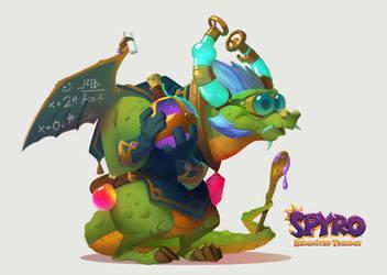 Spyro Reignited Trilogy: Magic Crafter Eldrid by Gorrem