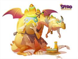 Spyro Reignited Trilogy: Artisan Thor by Gorrem