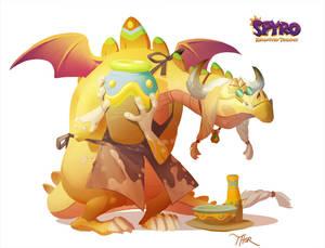 Spyro Reignited Trilogy: Artisan Thor