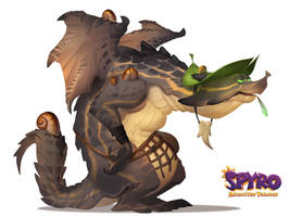 Spyro Reignited Trilogy: Beastmaker Zeke