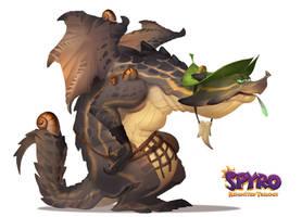 Spyro Reignited Trilogy: Beastmaker Zeke by Gorrem