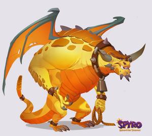 Spyro Reignited Trilogy: Peacekeeper Boris