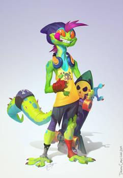 TMNT - Mondo Gecko
