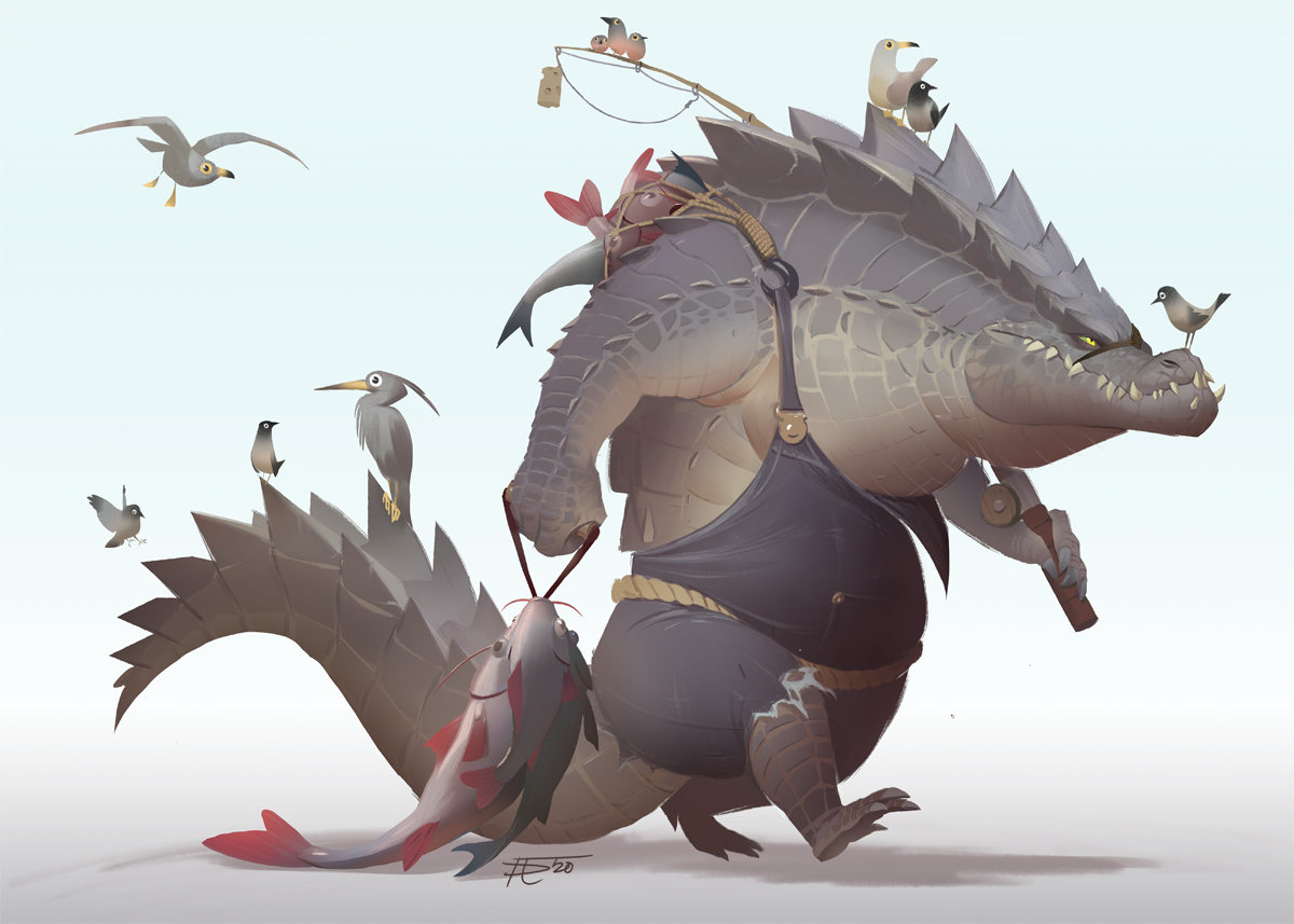 The Fish Monger