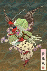 Tengu by Gorrem