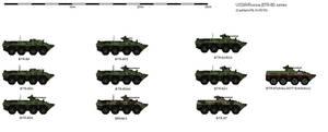 FD Scale:BTR-80 Combat variants