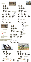 US Army soldier megasheet by Gir1010
