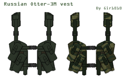 Tool - Russian Otter-3M vest by Gir1010