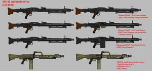 GLK sized pixel gun: MG42 and derivatives