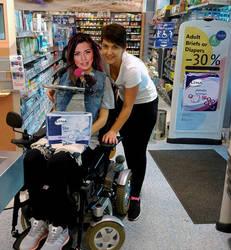 Quadriplegic shop at diaper sale by WheelTobi