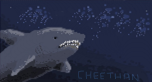 iScribble II - feb.11 - shark by Baphita