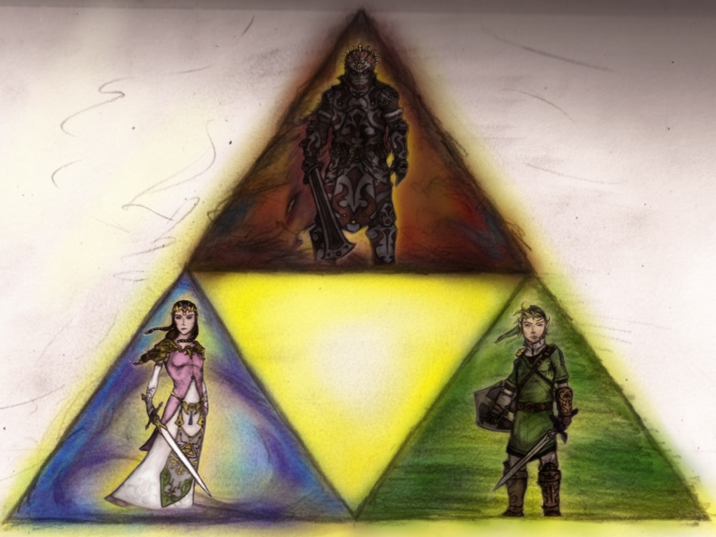 Triforce by Madcapmarsupial