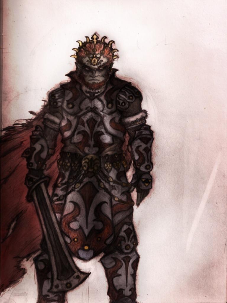 Ganondorf by Madcapmarsupial