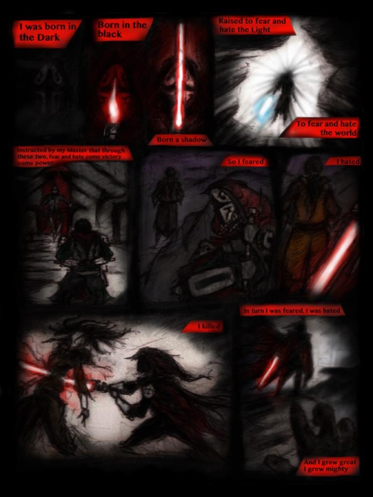 Light Sith 1 by Madcapmarsupial