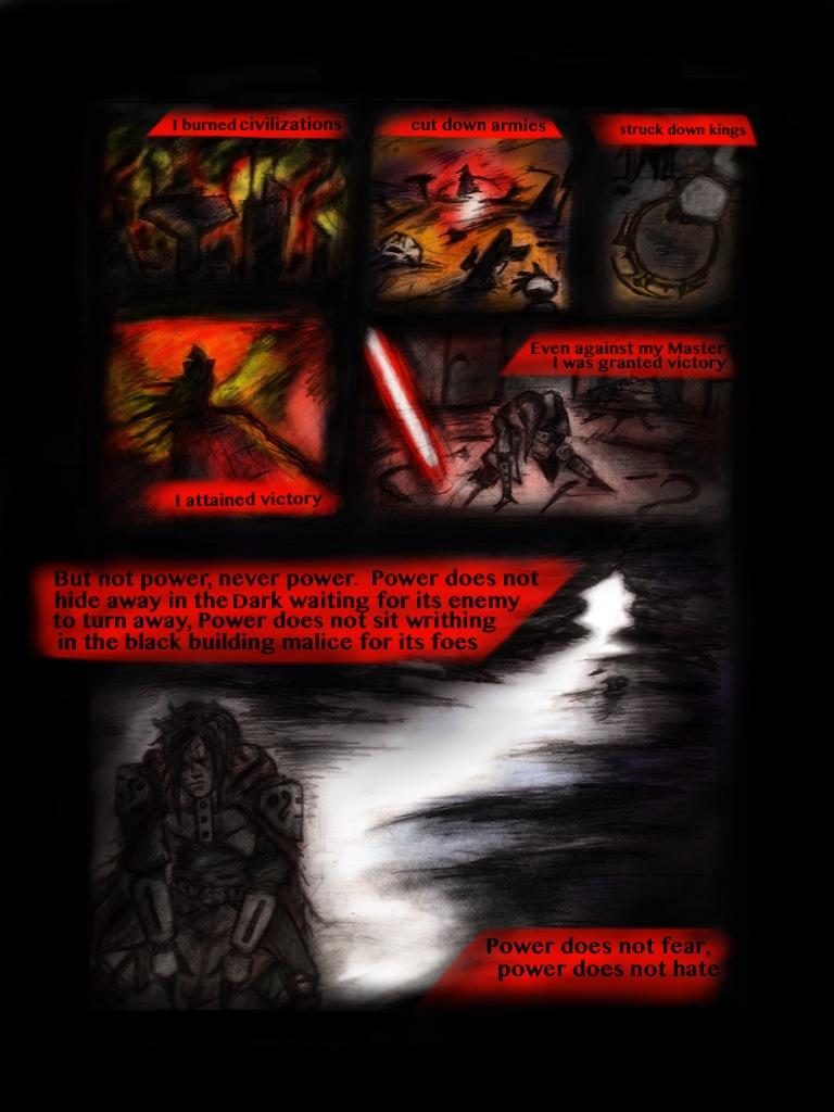 Light Sith 2 by Madcapmarsupial
